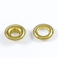 Thumbnail Image for DOT Grommet with Tooth Washer #1 Brass 9/32