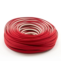 Thumbnail Image for Steel Stitch Sunbrella Covered ZipStrip #6003 Jockey Red 160' (Full Rolls Only) 0
