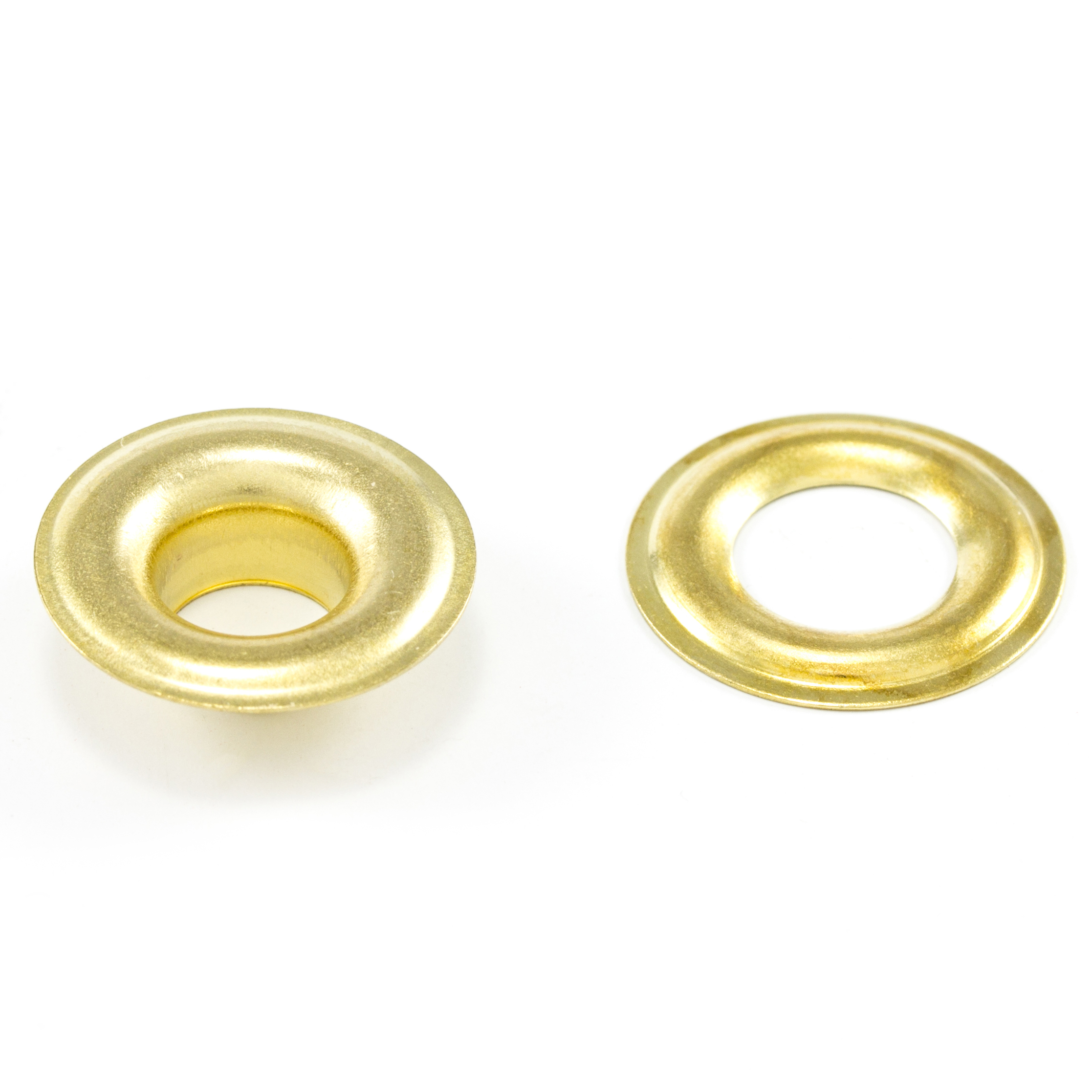 Thumbnail DOT Grommet with Plain Washer #1 Brass 9/32 1