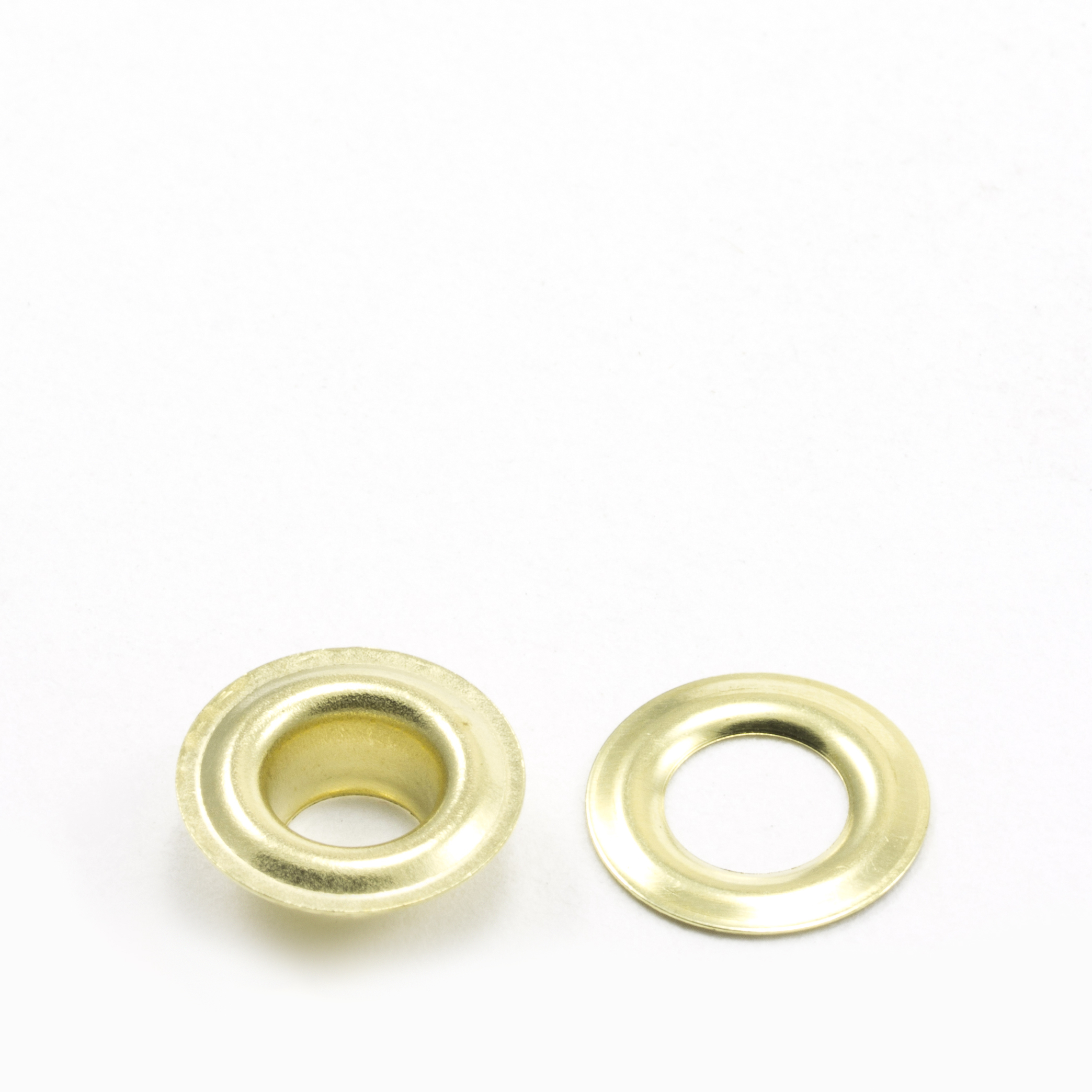 Thumbnail Grommet with Plain Washer #0 Brass 1/4 1