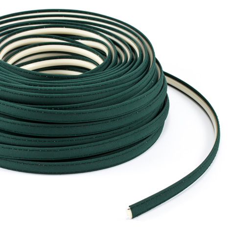 Steel Stitch Firesist Covered ZipStrip with Tenara Thread #82003 Forest Green 160' Full Rolls Only