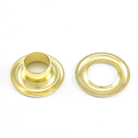 Image for DOT Grommet with Plain Washer #4 Brass 1/2