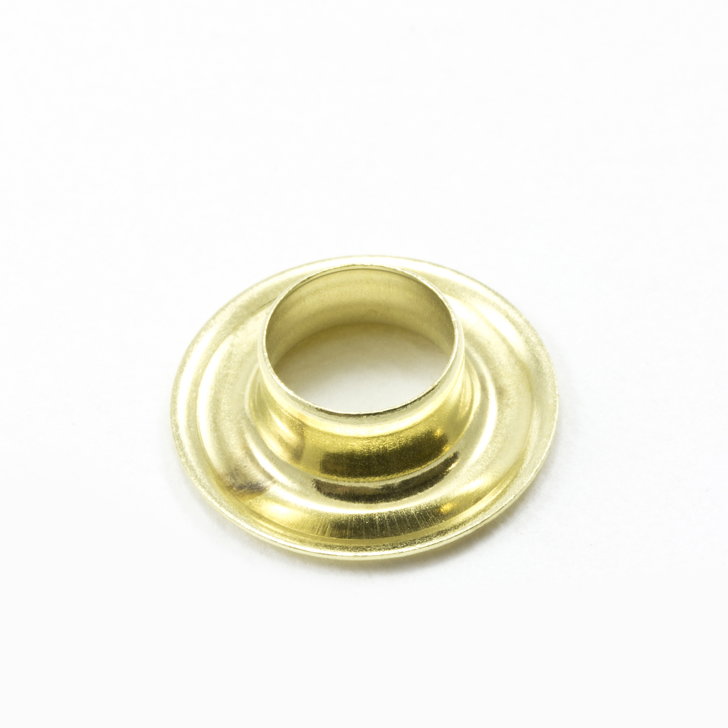 Self-Piercing Grommet without Washer #2 Brass 3/8
