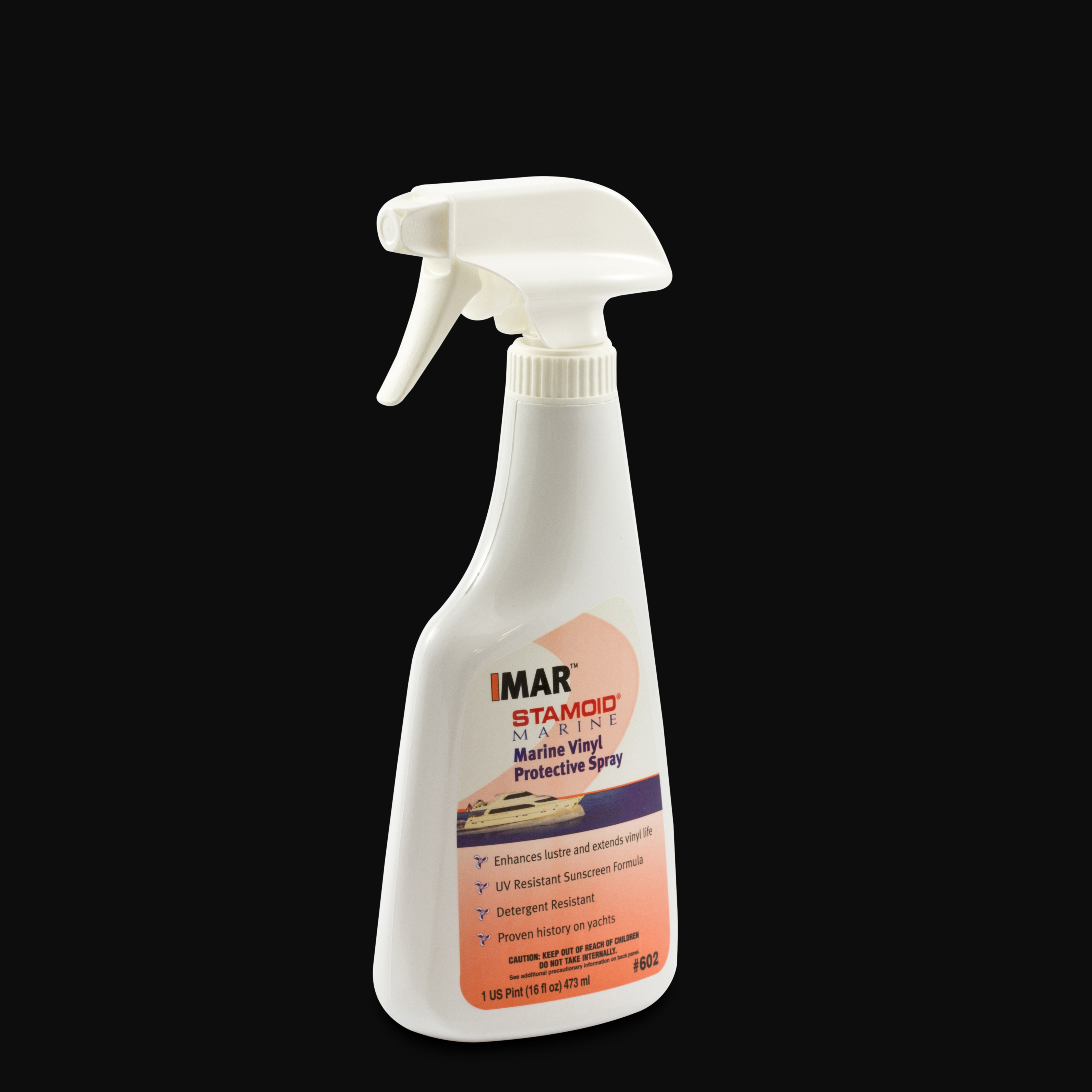IMAR Stamoid Marine Vinyl Protective Spray #602 16-oz Spray Bottle