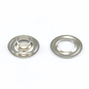 Image for DOT Grommet with Plain Washer #1 Nickel Plated Brass 9/32