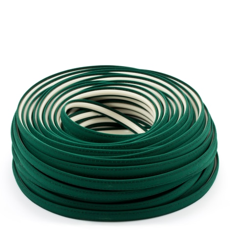 Image for Steel Stitch Sunbrella Covered ZipStrip with Tenara Thread #4637 Forest Green 160' (Full Rolls Only)