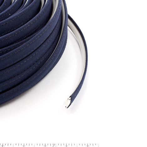 Thumbnail Steel Stitch Sunbrella Covered ZipStrip #6026 Navy 160' Full Rolls Only 1
