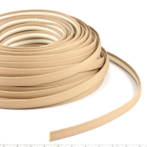 Thumbnail Steel Stitch Firesist Covered ZipStrip #82012 Toast Beige 160' Full Rolls Only 1