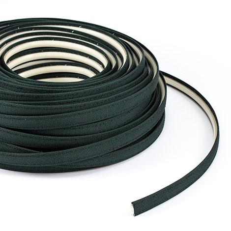 Steel Stitch Firesist Covered ZipStrip #82002 Forest Green Tweed 160' Full Rolls Only