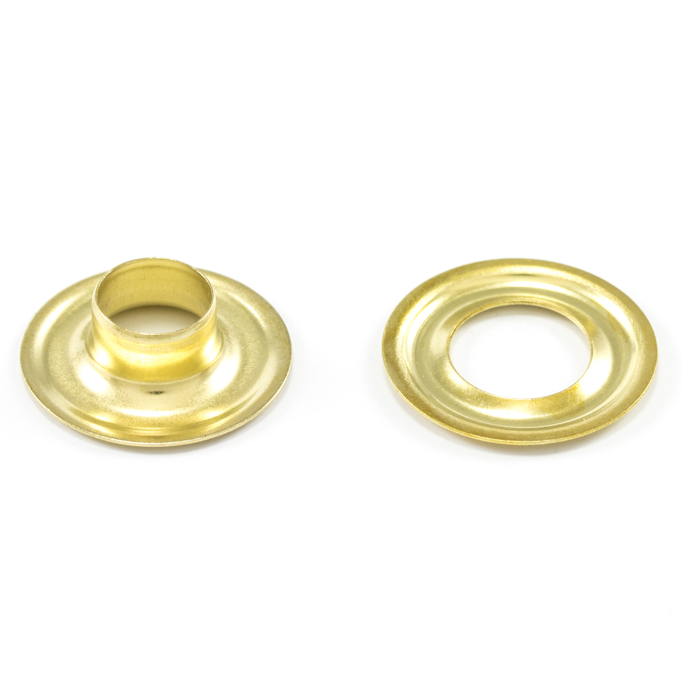 DOT Grommet with Plain Washer #1 Brass 9/32