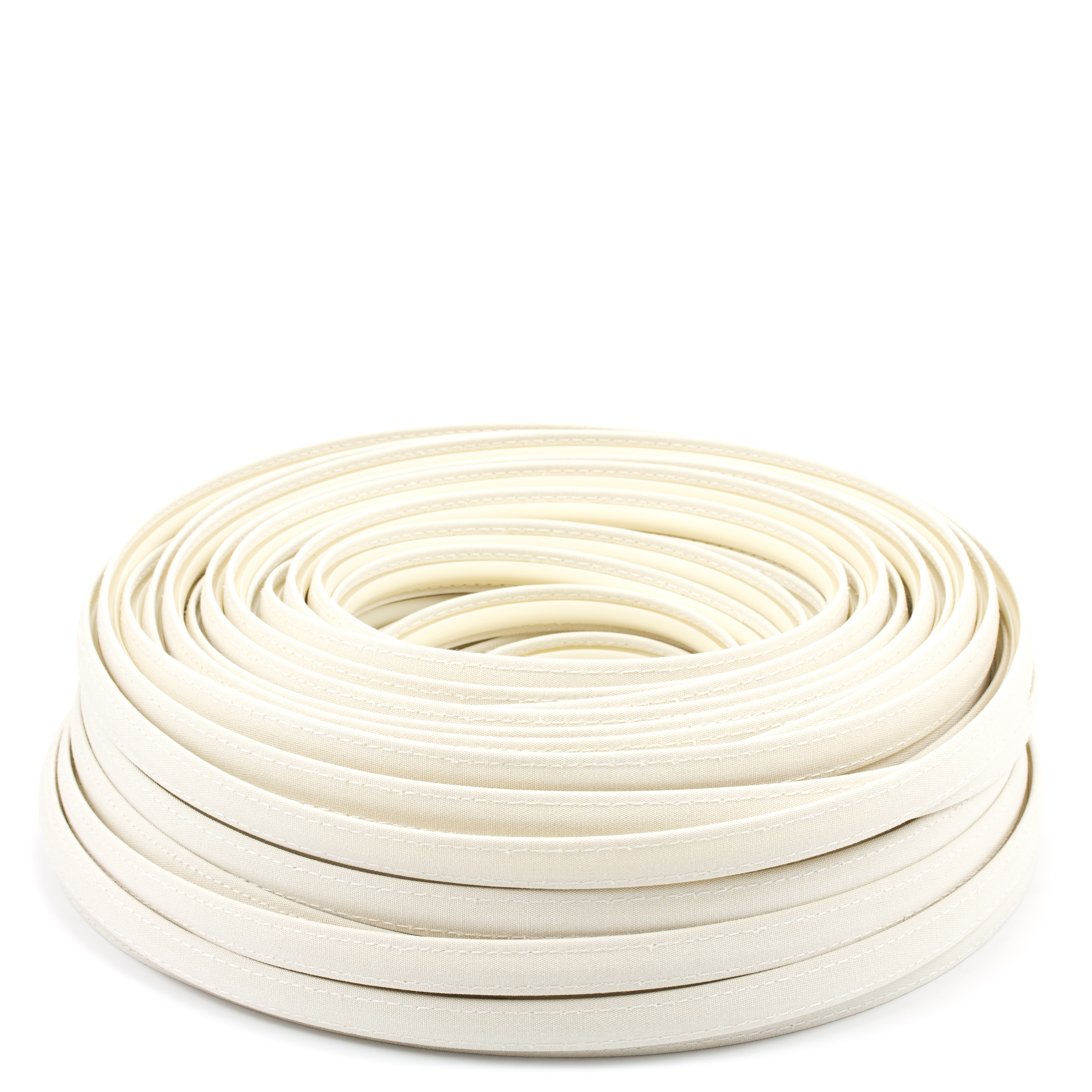 Steel Stitch Sunbrella Covered ZipStrip #6042 Oyster 160' Full Rolls Only