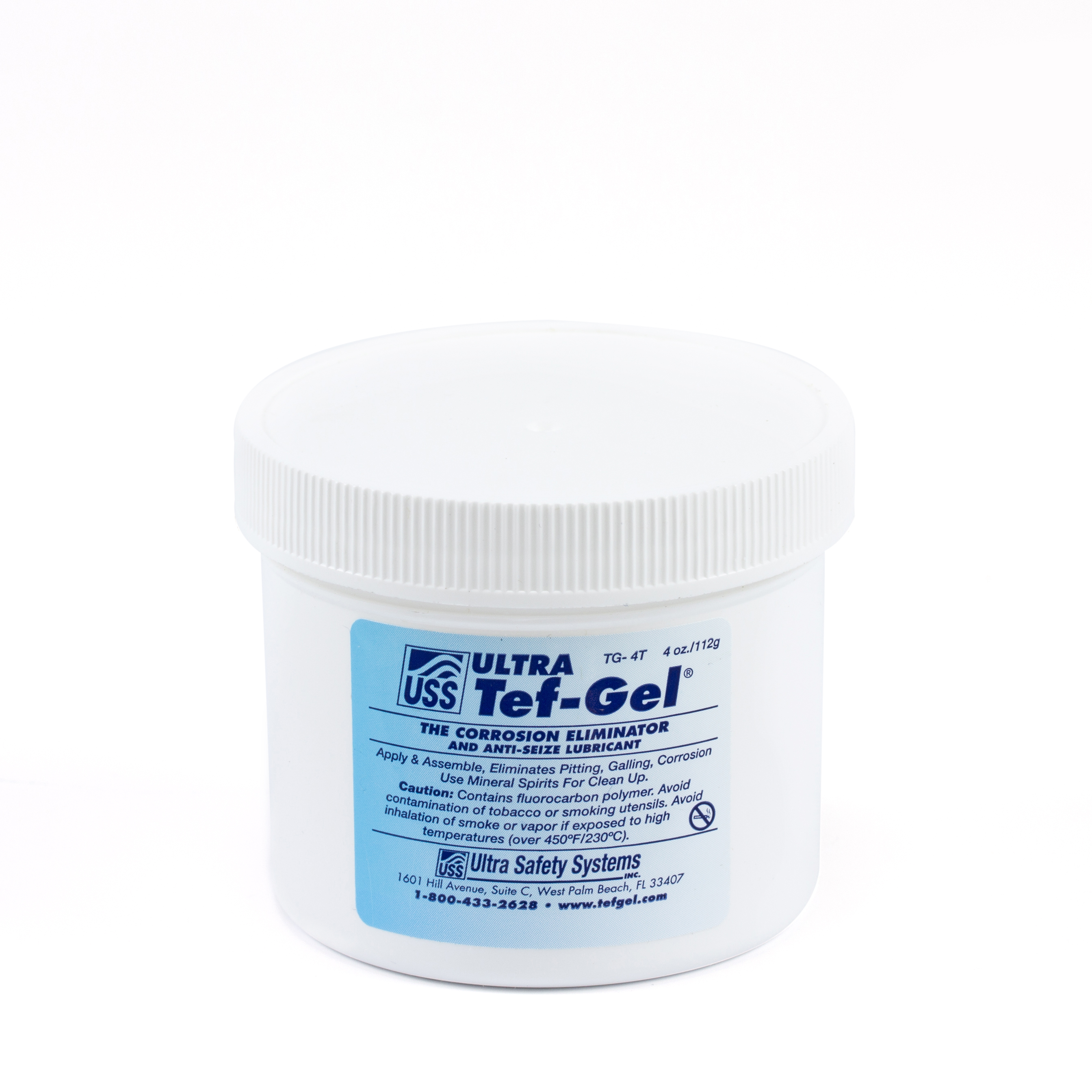 Ultra Tef-Gel Marine Lubricant #TG-04 4-oz Tub