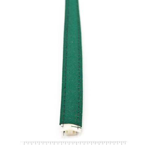Thumbnail Steel Stitch Sunbrella Covered ZipStrip with Tenara Thread #4637 Forest Green 160' Full Rolls Only 2