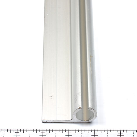 Thumbnail Crocodile Keder Rail Curtain Track Aluminum 90 Degree 16.4' 0