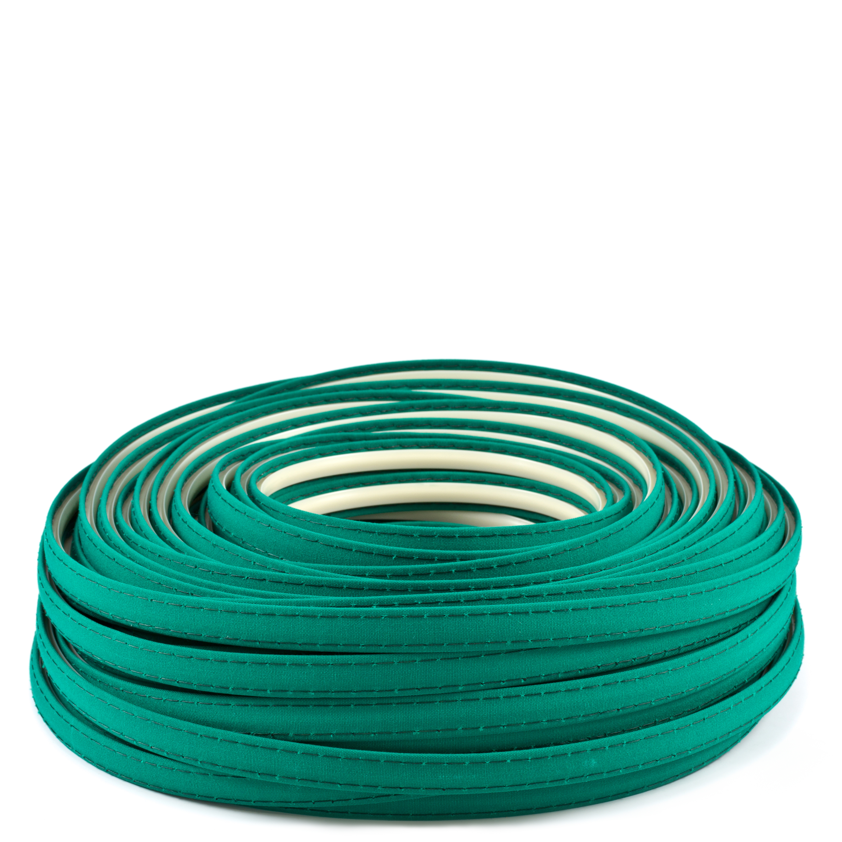 Steel Stitch Sunbrella Covered ZipStrip #6045 Seagrass Green 160' Full Rolls Only