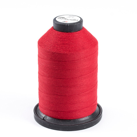 Sunbrella Embroidery Thread #98030 Size #24 Jockey Red