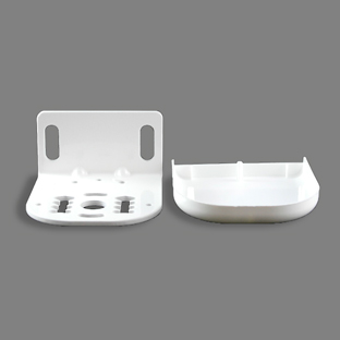Thumbnail Solair End Bracket with Cover White 1