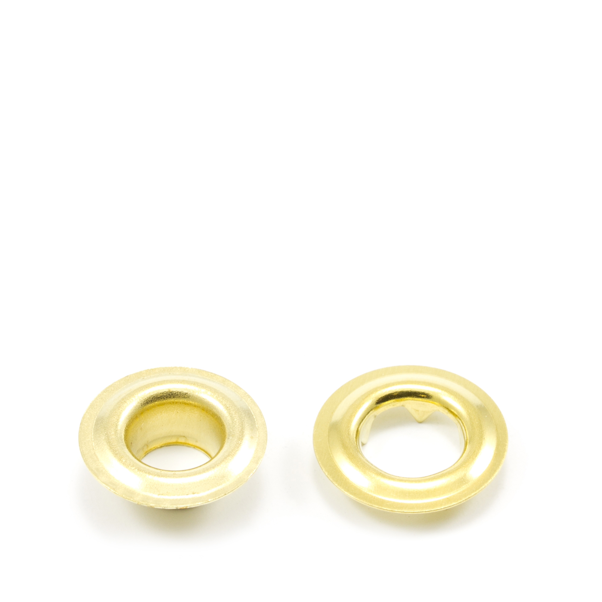 Thumbnail Grommet with Tooth Washer #0 Brass 1/4 1