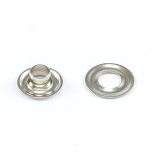 Image for DOT Grommet with Plain Washer #00 Nickel Plated Brass 3/16