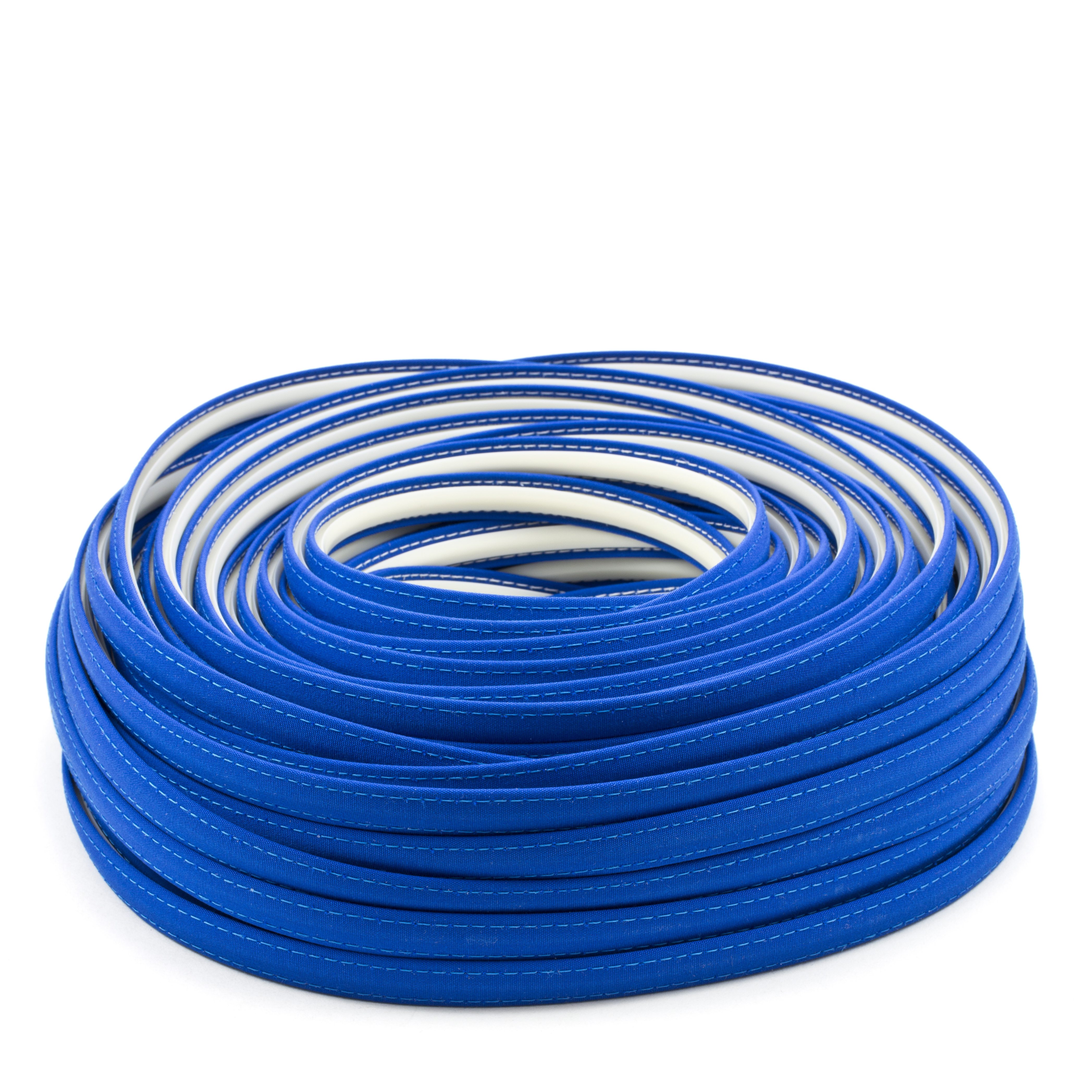 Steel Stitch Sunbrella Covered ZipStrip #6001 Pacific Blue 160' Full Rolls Only