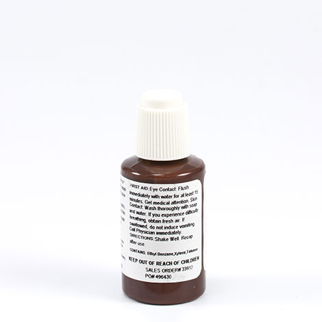 Thumbnail Solair Paint #RAL8017 0.6-oz Brush Top Bottle Cocoa 2