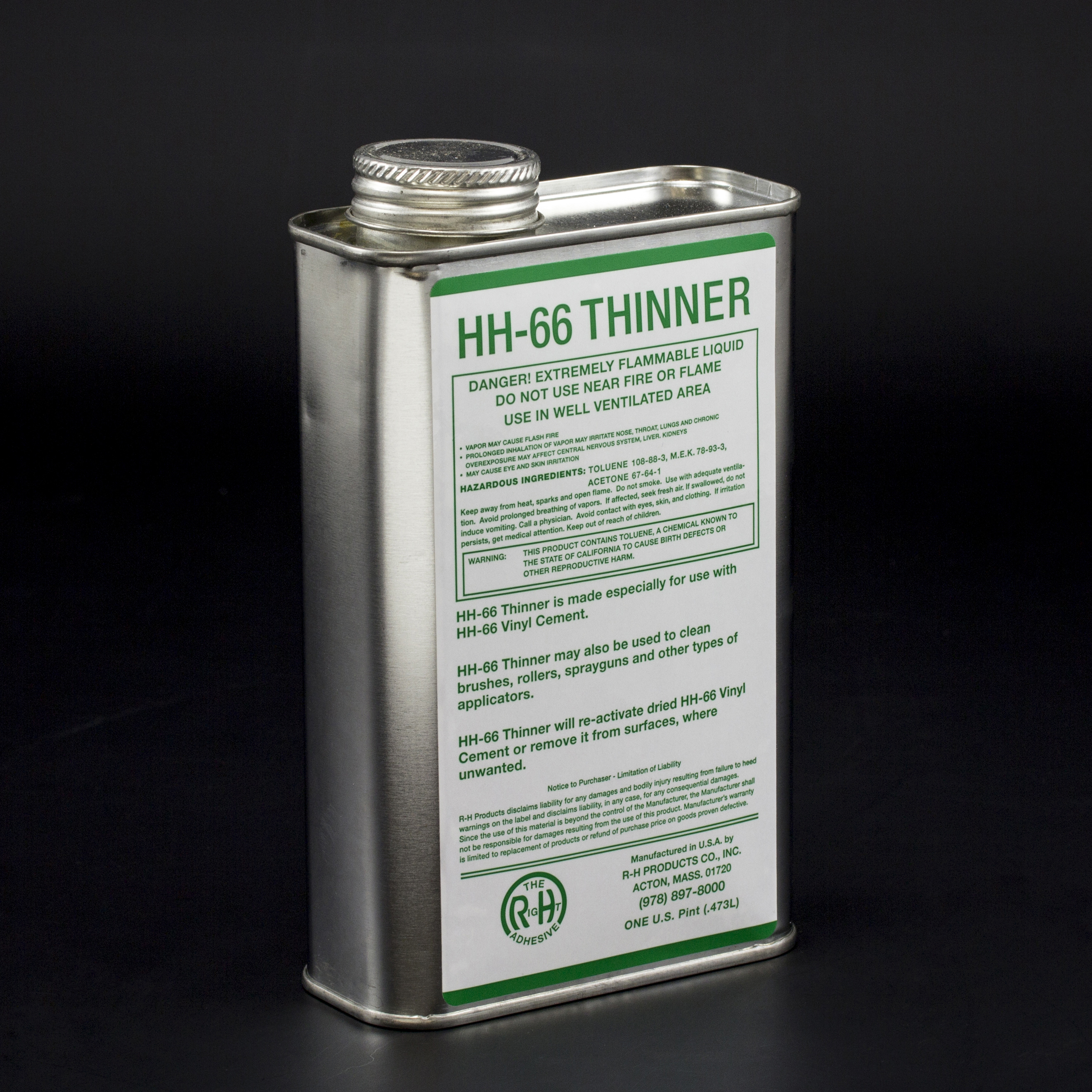 Thumbnail HH-66 Thinner 1-pt Can 1