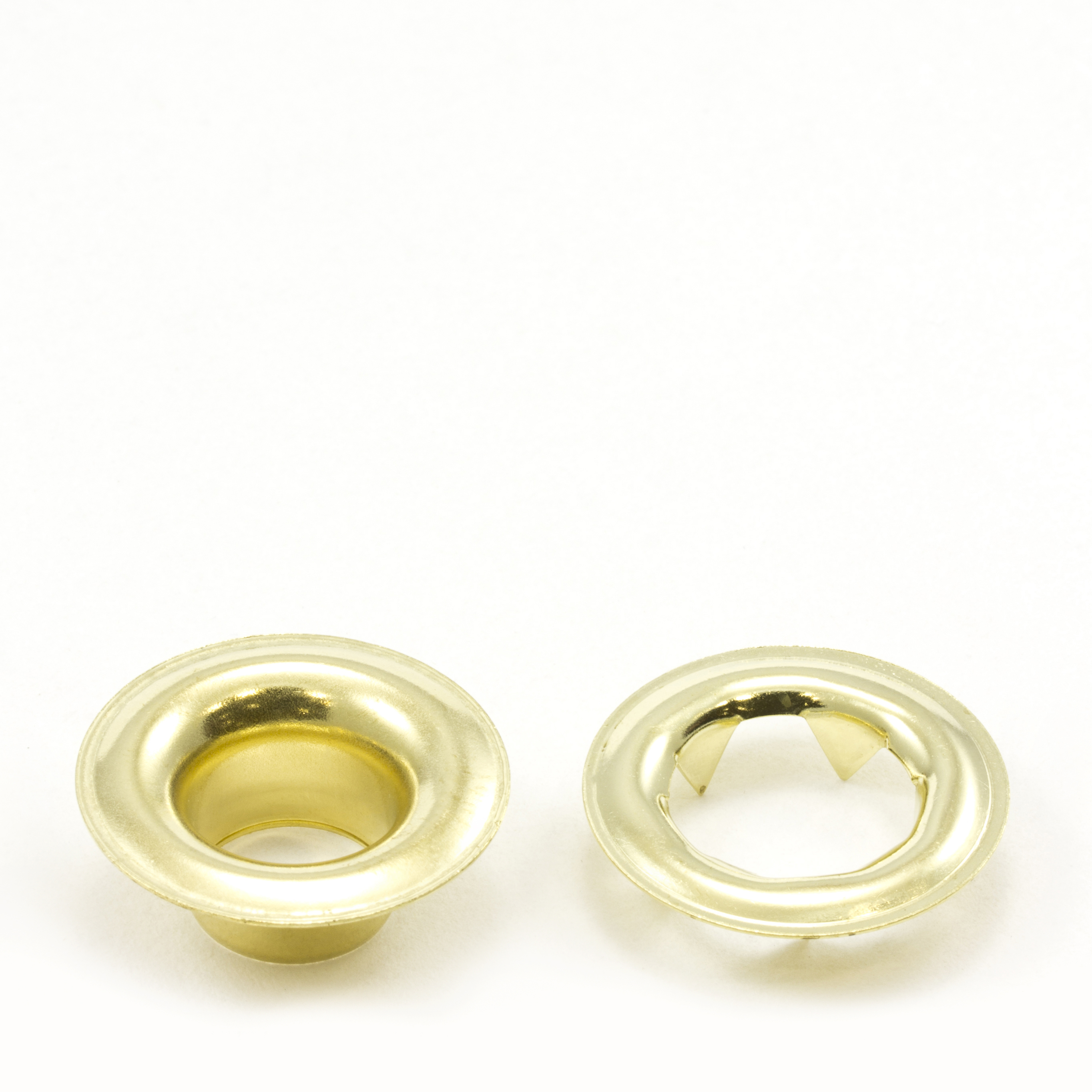 Thumbnail Grommet with Tooth Washer #4 Brass 1/2 1