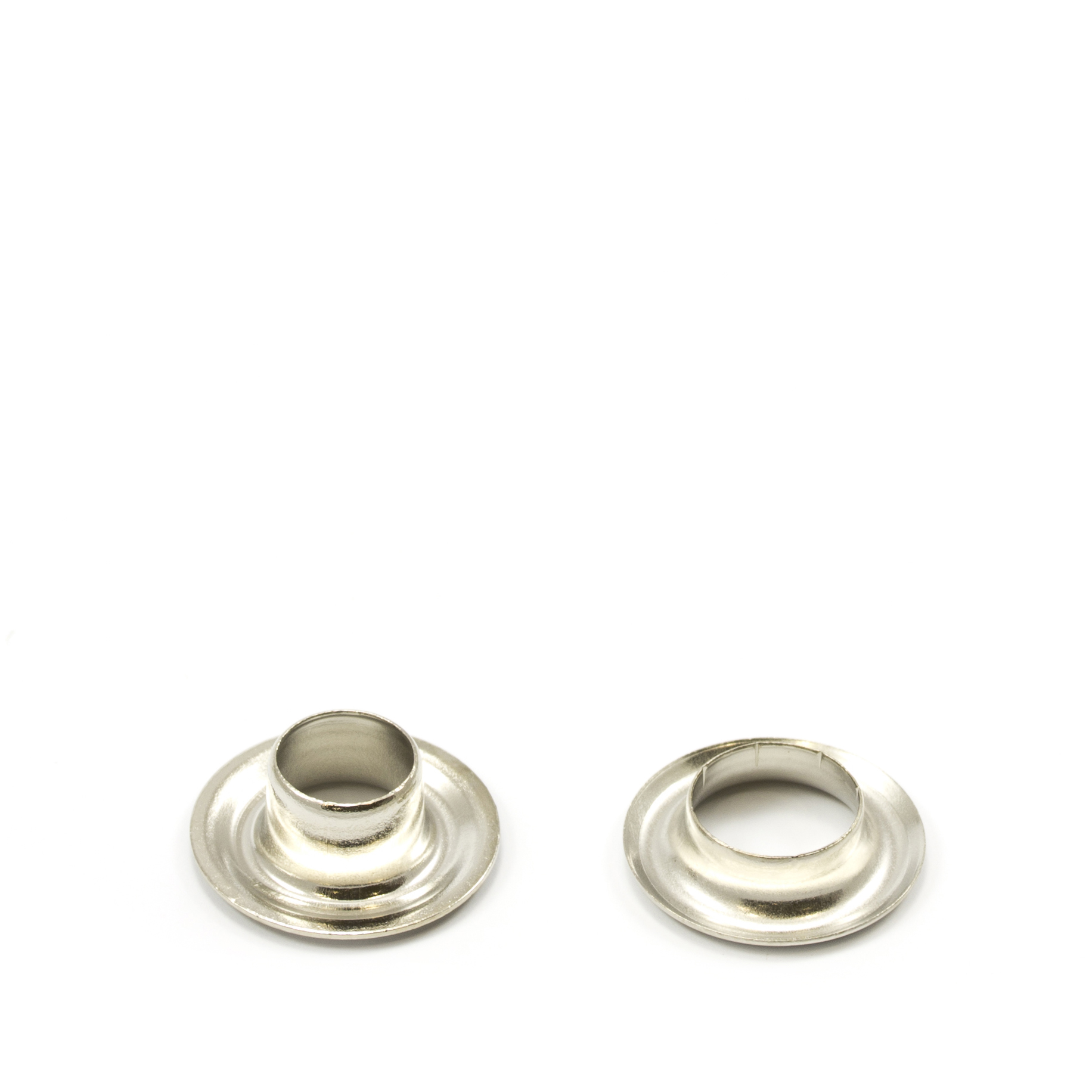 Grommet with A-1197 Washer #0 Brass Nickel Plated 25-gr ED ALT